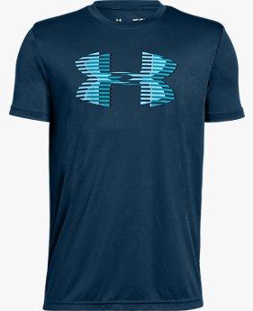 Jungen UA Tech™ Big Logo Solid T-Shirt
