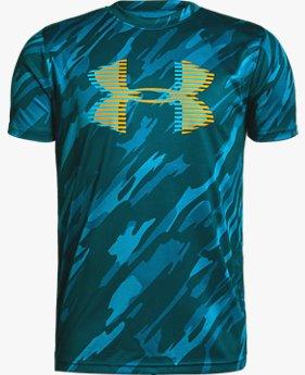 【アウトレット】UAテック ビッグロゴ プリント Tシャツ(トレーニング/Tシャツ/BOYS)