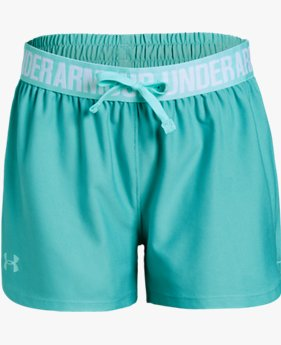 Girls' UA Play Up Shorts