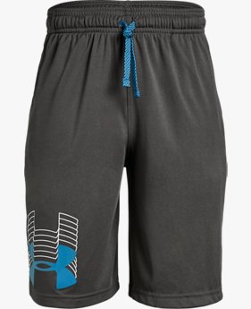 Shorts de Treino Infantil Masculino Under Armour Prototype Logo