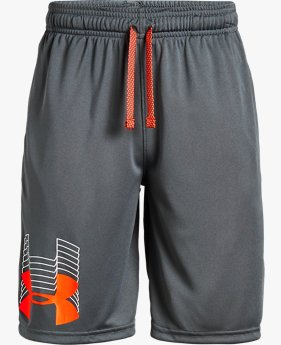 Boys' UA Prototype Logo Shorts
