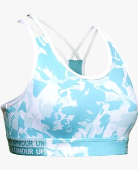 Girls' HeatGear® Armour Novelty Sports Bra
