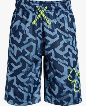 Shorts de Treino Infantil Masculino Under Armour Renegade 2.0 Jacquard