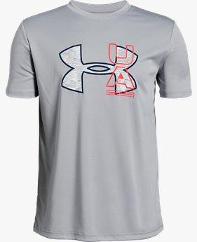 보이즈 UA BTH UV 로고 티셔츠