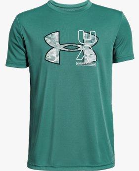 Erkek Çocuk UA UV Logolu Tişört