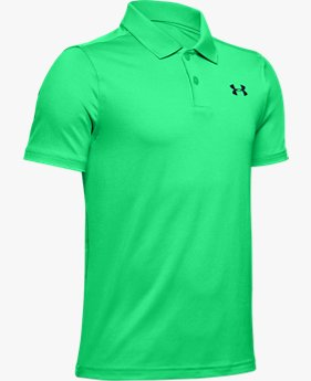 Polo UA Performance Textured da ragazzo