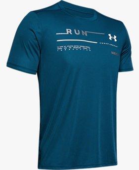 Polera UA Run Graphic para hombre