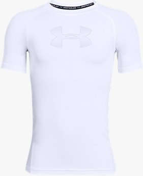 Boys' HeatGear® Armour Short Sleeve