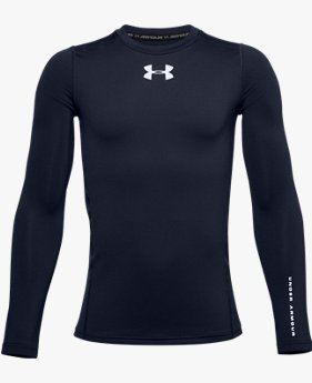 Boys' ColdGear® Armour Long Sleeve