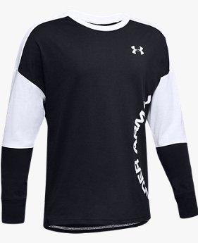 UA スポーツスタイル カラー ブロック ロングスリーブ(トレーニング/Tシャツ/BOYS)