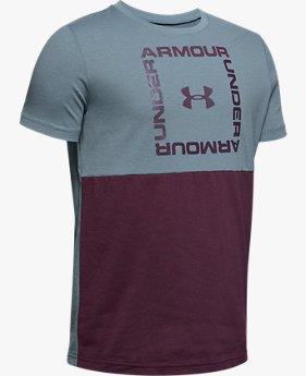 Polera manga corta UA Sportstyle para niño