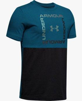 Camiseta de Manga Curta UA Sportstyle Infantil Masculina