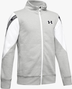 Boys' UA Sportstyle Fleece Full Zip