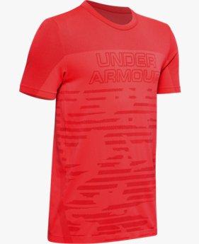 Jongens T-shirt UA Seamless