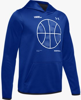 Sudadera con Capucha Armour Fleece® Basketball Logo para Niño