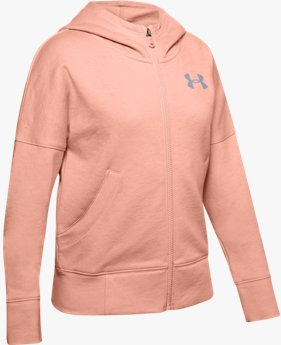 Sweat UA Rival Full Zip pour fille