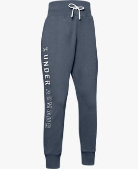 Girls' UA Unstoppable Double Knit Slouch Pants