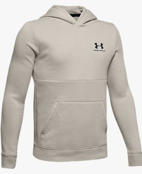 Sweat à capuche UA EU Cotton Fleece pour garçon