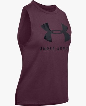 Women's UA Sportstyle Graphic Muscle Tank