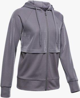 Kadın Armour Fleece® Mirage Tam Boy Fermuarlı