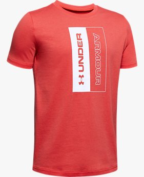 Boys' UA Unstoppable Short Sleeve