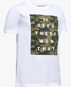 Boys' UA Been There Won That Short Sleeve