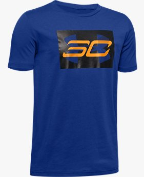 Boys' SC30™ Branded Short Sleeve