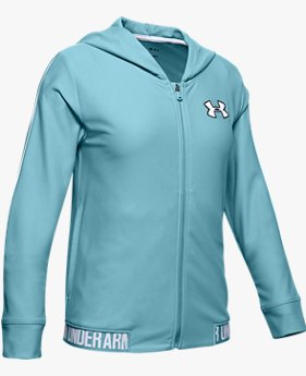 Girls' UA Play Up Full Zip Jacket