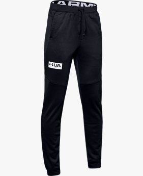 Pantaloni UA Game Time Fleece da ragazzo