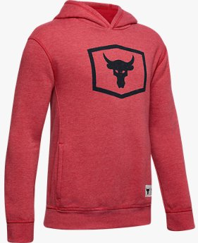 Boys' Project Rock Warm-Up Hoodie
