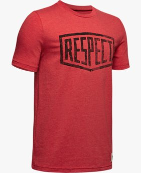"Jungen Project Rock T-Shirt mit ""Respect""-Grafik"