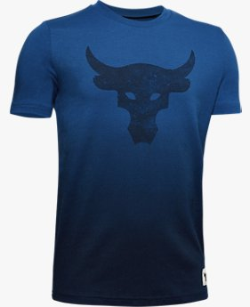 Camiseta Project Rock Bull Graphic Infantil Masculina