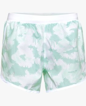 Women's UA Fly-By 2.0 Printed Shorts