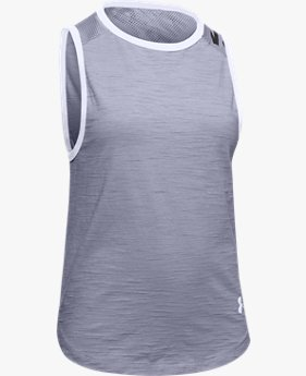 Girls' Charged Cotton® Branded Tank