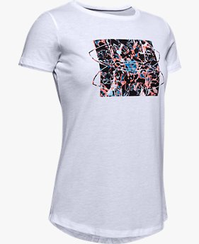 Girls' UA Print Fill Graphic T-Shirt