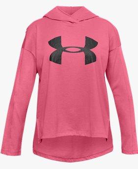 Sweat à capuche UA Favorite Jersey pour fille