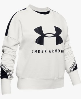 Girls' UA Sportstyle Terry Crew