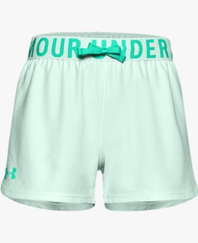Girls' UA Play Up Solid Shorts