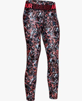 Legging HeatGear® Armour Printed pour fille