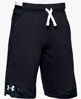 Boys' UA Stunt 2.0 Printed Shorts