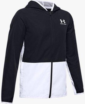 Boys' UA Woven Track Jacket