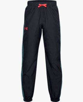 Boys' UA Mesh Lined Trousers