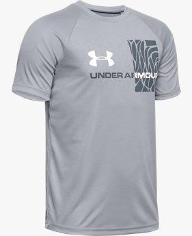 Boys' UA Tech™ Splash Gradient Short Sleeve