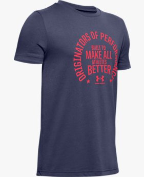 Boys' UA Performance Originators Short Sleeve