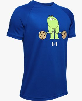 Boys' UA Tech™ Cookie Emoji Short Sleeve