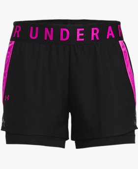 Damen UA Play Up 2-in-1-Shorts