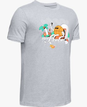Jungen UA Mr. Buckets T-Shirt