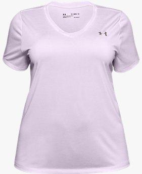 Women's UA Tech™ Twist V-Neck Short Sleeve