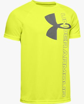 Boys' UA Tech™ Split Logo Hybrid
