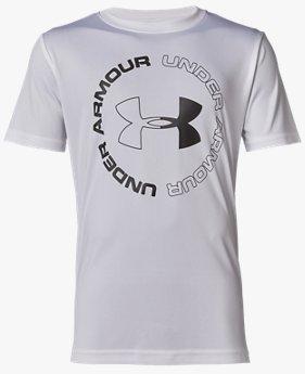 UAテック ロゴ ブランド ショートスリーブ(BOYS)
